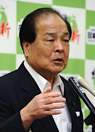 片山虎之助・維新の党国会議員団政調会長