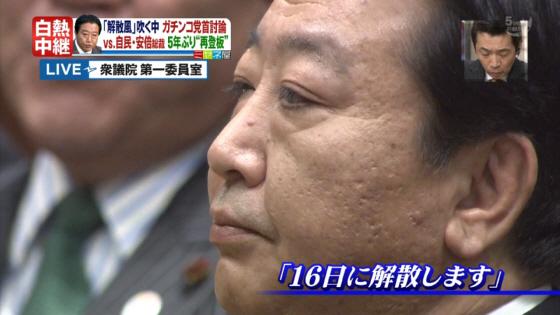 野田佳彦首相が16日に衆院を解散すると表明したのを受け、政府・民主党は14日夜、首相官邸で三役会議を開き、次期衆院選を12月4日公示・16日投開票の日程で行うことを決めた。