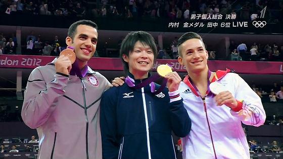 内村、雪辱の金メダル!「夢かと思った」