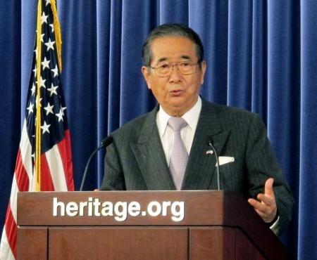 石原慎太郎東京都知事「東京都が尖閣居諸島を購入する」
