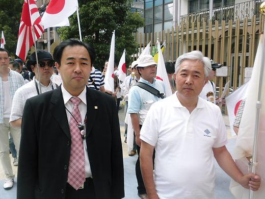 2012.7.8竹島奪還デモ in 新宿