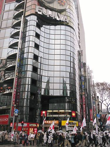 2012.1.21第二回電通・朝日新聞抗議デモ 銀座