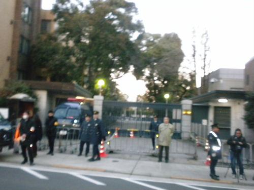 2012.2.4殺すな!チベット虐殺抗議!緊急国民行動  支那大使館への抗議活動