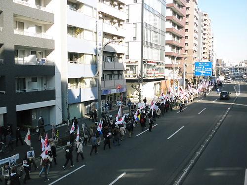 2012.2.19韓国は即刻竹島から出て行け日本国民による大規模デモin浅草(350人参加)