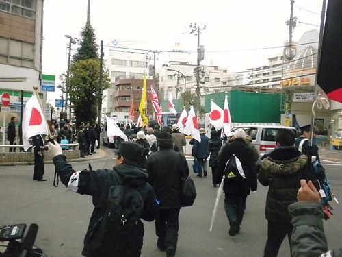 【2.25大田区の北朝鮮友好政策に断固抗議!国民大行進】