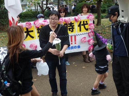 大嫌韓デモ in 東京 ~ 『大嫌韓時代』ベストセラー記念 ~(平成26年11月2日