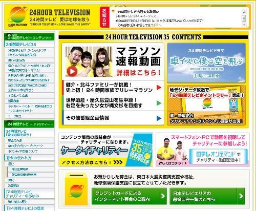 日本テレビ24時間テレビの番組終了時の募金額は2億8240万4461円 海外番組のようにノーギャラで製作できないのは何故?
