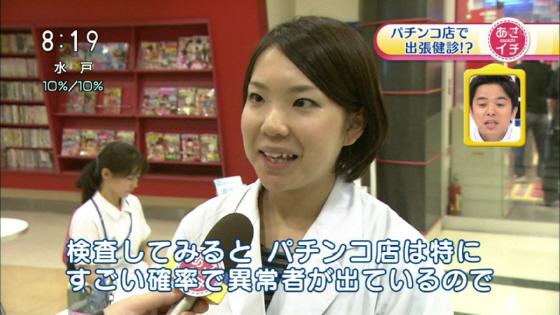 11月29日放送NHK「あさイチ」、「パチンコ店で出張検診!?」