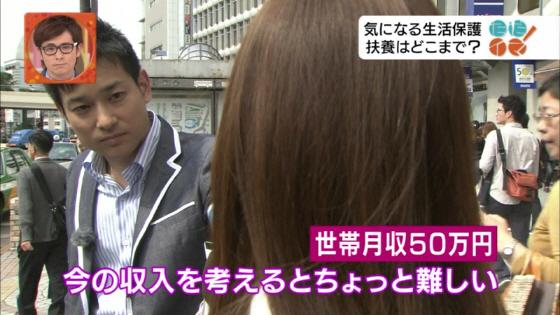6月1日NHKの報道番組 情報ライブ ただイマ!生活保護