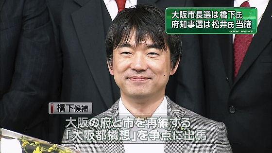 大阪市長選