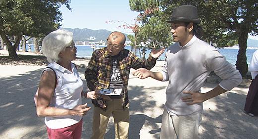 NHK「鶴瓶の家族に乾杯」 松山ケンイチ