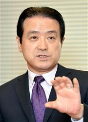 維新の党の江田憲司共同代表