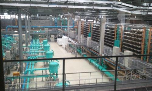 福岡市にある日本一の「海の中道奈多海水淡水化センター」