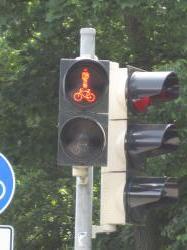 自転車歩行者