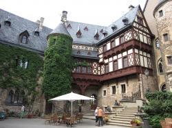 Wernigerode城内側