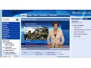 地震テレビ