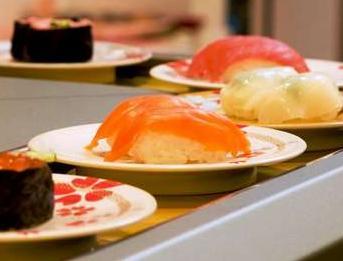 回転寿司が美味しい