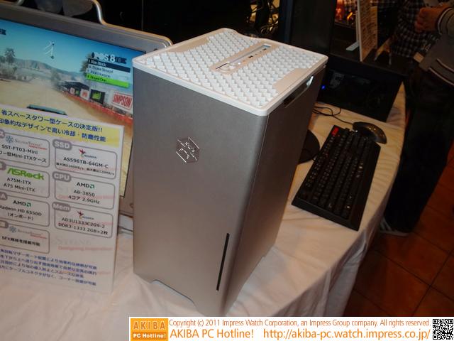 bad79f94e6 展示品の完成度の高さを考えると、「発売がかなり先」ということは無さそうな印象だ。 http://akiba-pc .watch.impress.co.jp/hotline/20111008/etc_sstone0.html