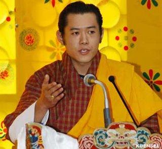 ブータン国王の来日