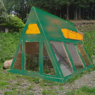 パッシブソーラー鶏小屋