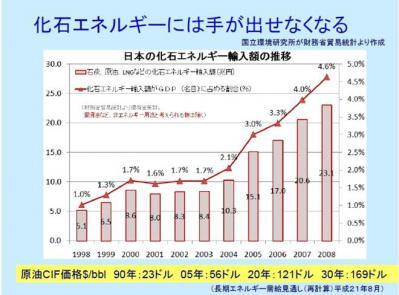エネルギー輸入グラフ