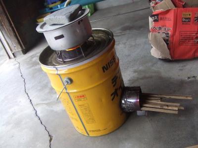 マレー鍋とロケットストーブ