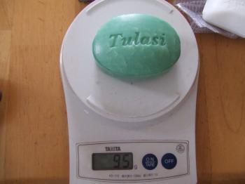 石鹸の重さ