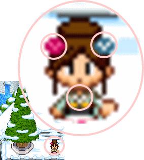 雪ミッキー1
