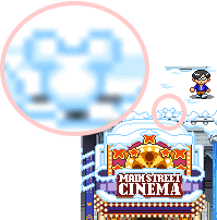 雪ミッキー2