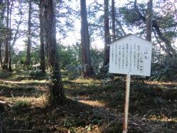 松井田城二の丸跡3