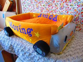 ベッド(バス)3D