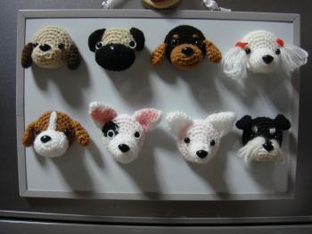 編みぐるみマグネット