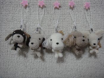 編みぐるみ 携帯ストラップ