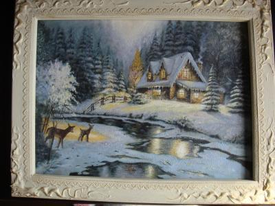 キンケイド冬景色