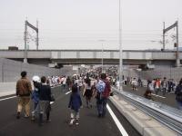広島高速2号新幹線橋脚下