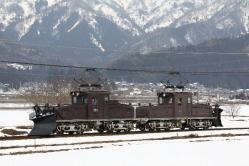 越前野中~轟間(2012.2.25)