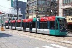 広島駅~猿猴橋町間(2012.5.5)