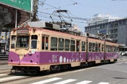 広島駅前~猿猴橋町間(2012.5.5)