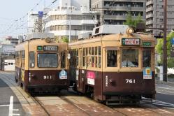 横川一丁目~別院前間(2012.5.5)