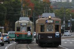 福島町~西観音町間(2012.11.22)