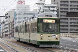 本川町~原爆ドーム前間(2012.11.23)