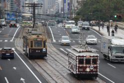 原爆ドーム前~本川町間(2012.11.23)