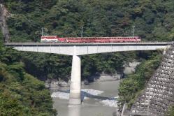 アプトいちしろ~長島ダム間(2011.10.8)