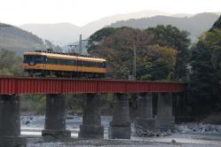 川根温泉笹間渡~抜里間(2012.11.24)