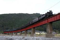 川根温泉笹間渡~抜里間(2011.10.8)