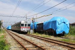 信濃川田駅跡(2012.6.30)