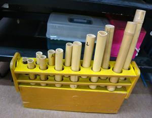 竹も楽器に