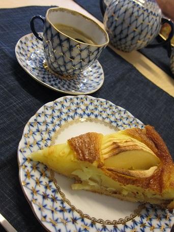 アルザス風りんごケーキ