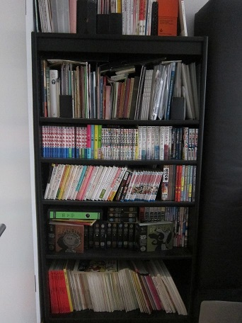 今日廃棄した本棚