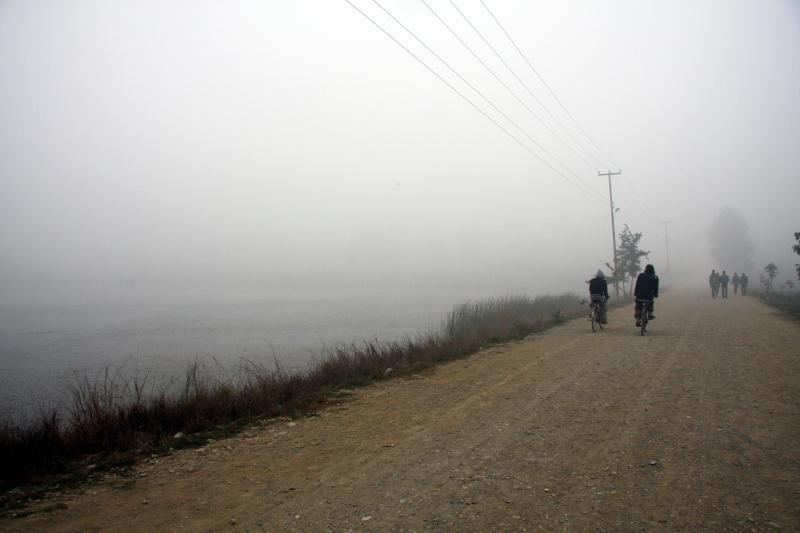霧のルンビニ